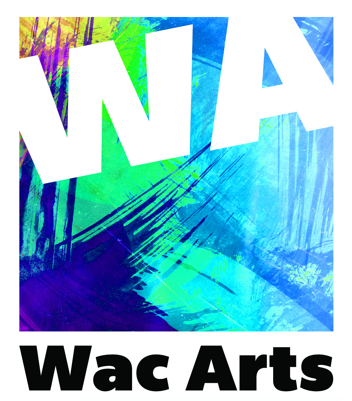 Wac Arts Logo blue